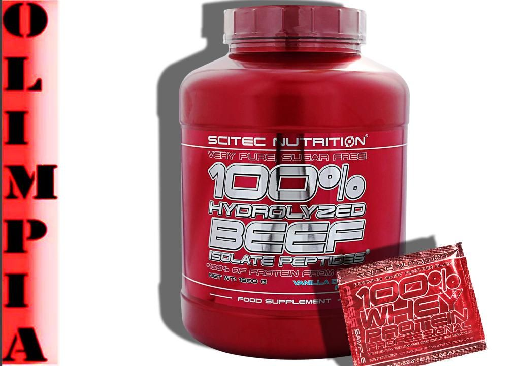 Scitec 100 Hydrolyzed Beef Isolate Peptide Probka 4885509419 Oficjalne Archiwum Allegro Peptides Beef The 100