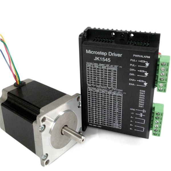 JK1545 Two Phase Hybrid Stepper Motor Driver For Money Counting 1.5A-4.5A DC 24-50V