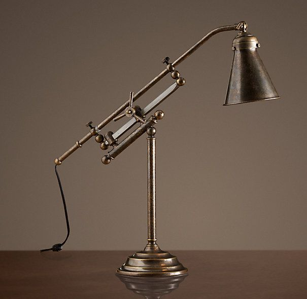 Pin By Sami Mcfadden On For The Home Industrial Floor Lamp Vintage Lamp Table Lamp