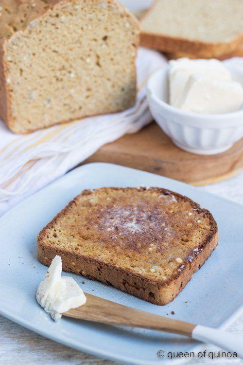 Gluten Free Quinoa Bread Recipe Simply Quinoa Recipe Quinoa Bread Food Best Quinoa Recipes