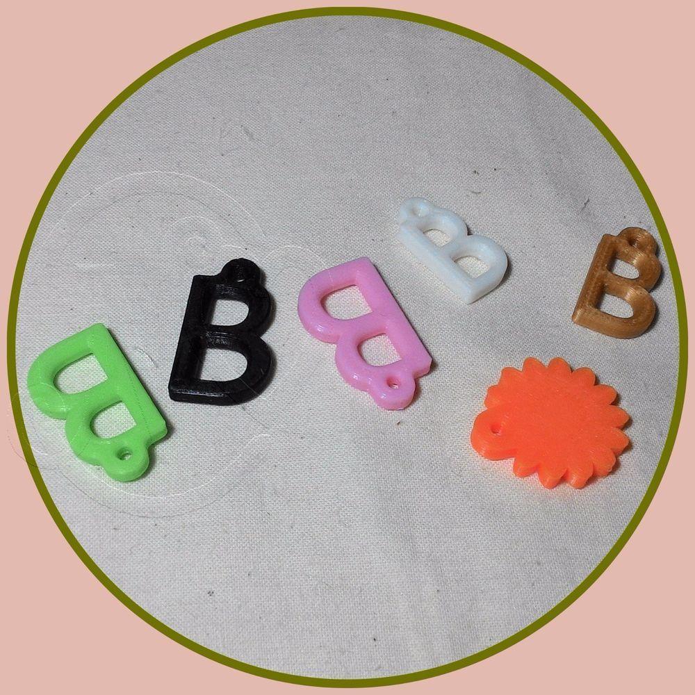 Blythe doll pull charm / pendant* eye changing pendant* 6 piece*