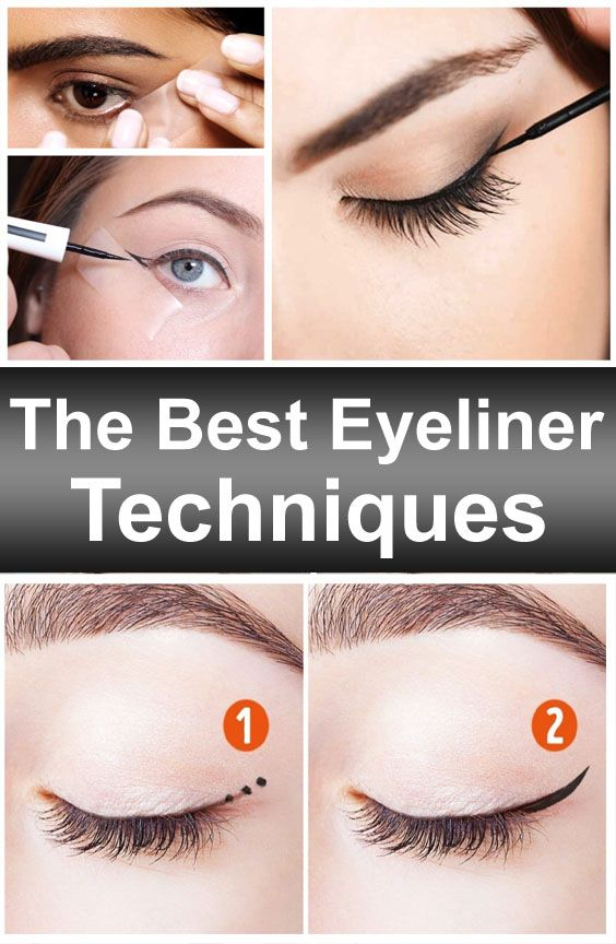 The Best Eyeliner Techniques