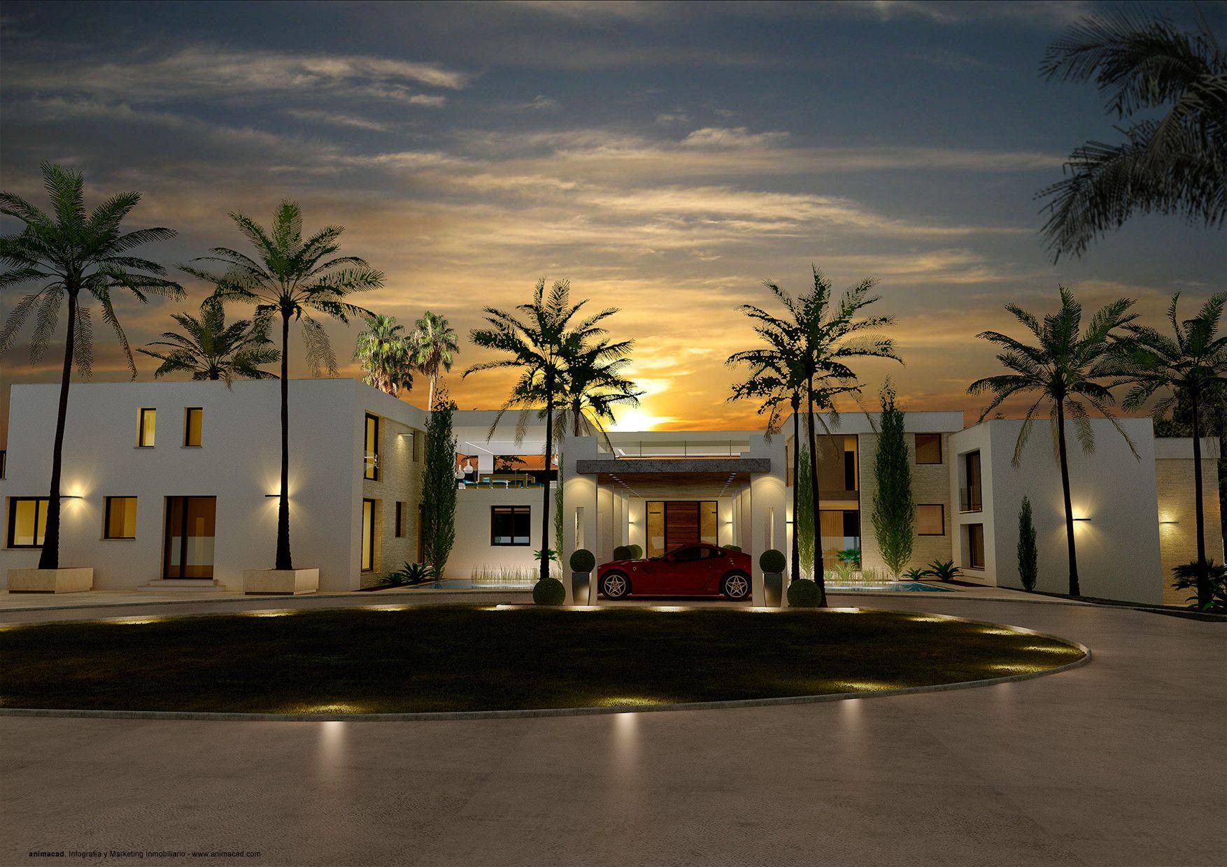 animacad Exterior 3D Marbella La Perla Blanca Vista 5