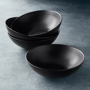 Mosser Glass Mixing Bowls Set Of 3 In 2020 Open Kitchen Black Tableware Williams Sonoma