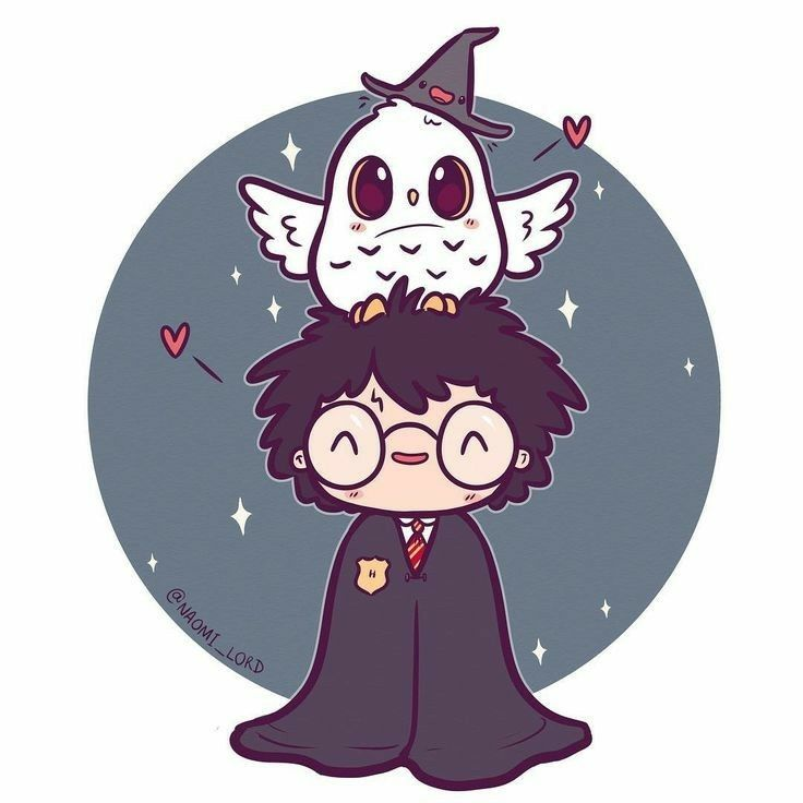 Harry potter hedwig harry potter pinterest harry potter hogwarts and harry potter art - Harry potter dessin ...