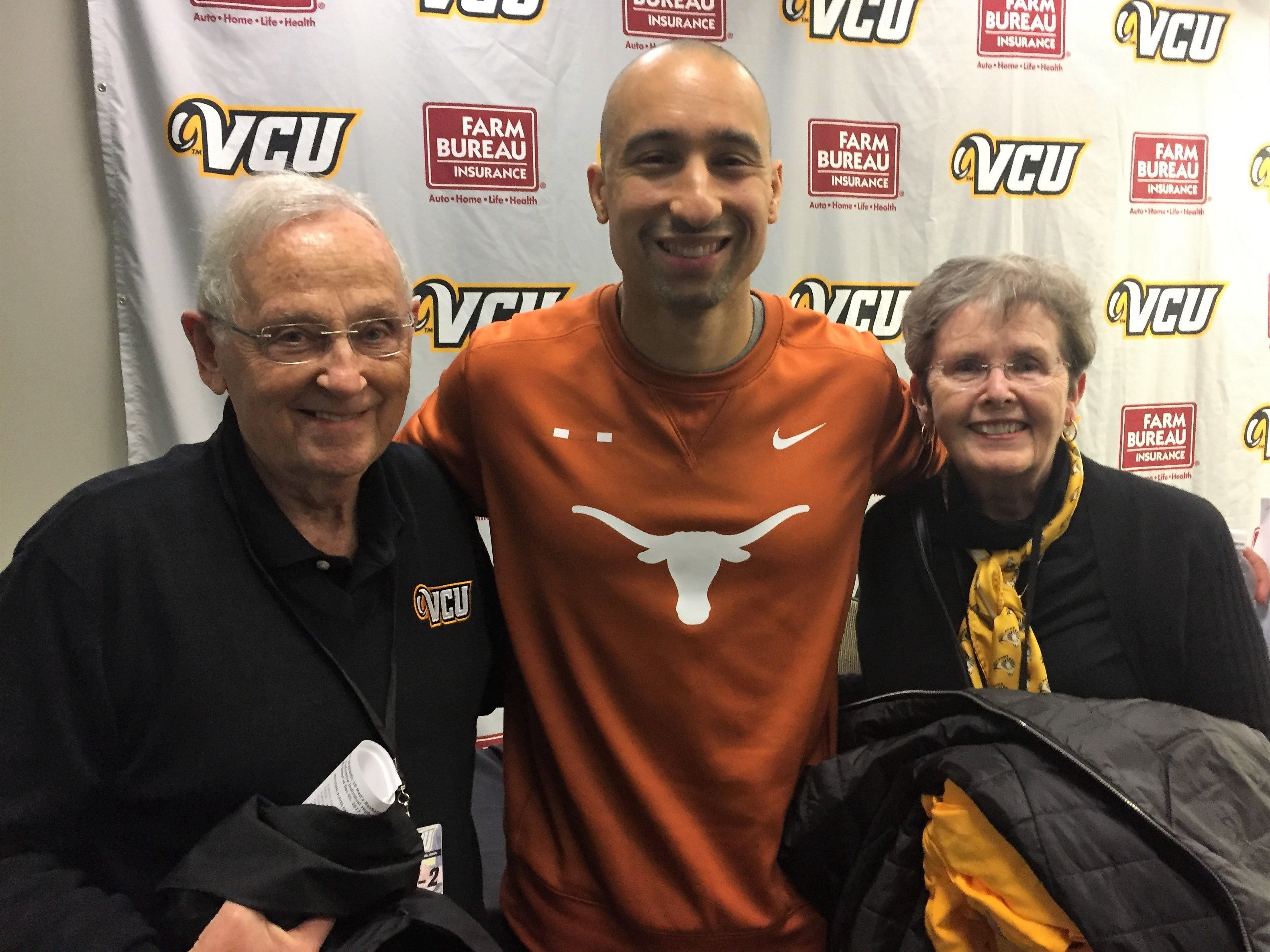 Former President of VCU, Eugene Trani and his wife, Lois