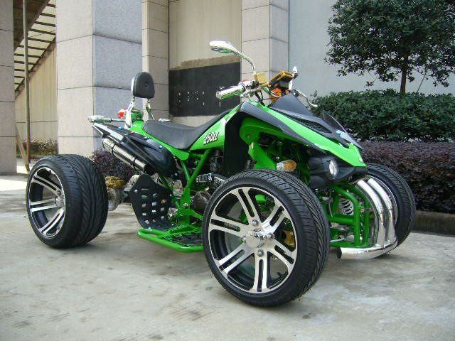 Road Legal Quad Bike With Fancy Rims Motorcycle Cool