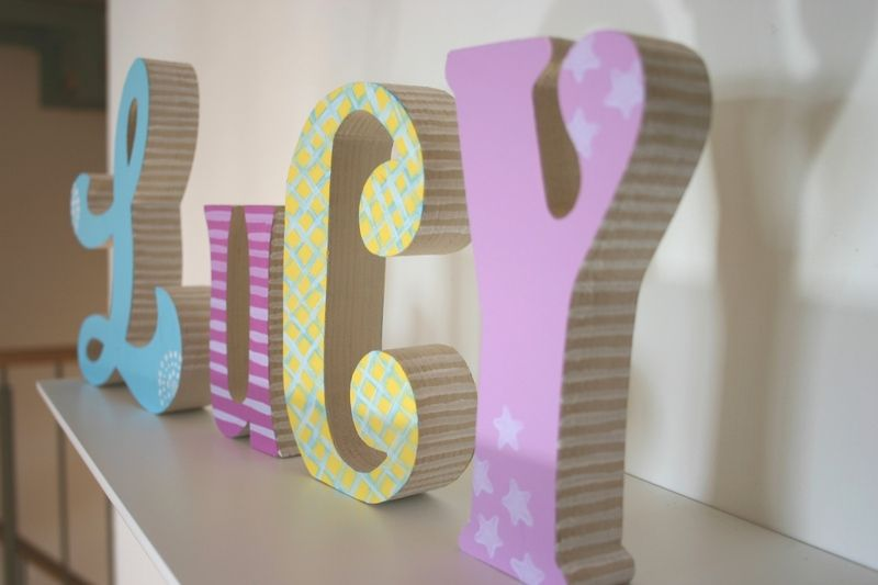 Holzbuchstaben Kinderzimmer Zum Aufstellen.Pin Von Anja Pichler Auf Kinderzimmer Buchstaben