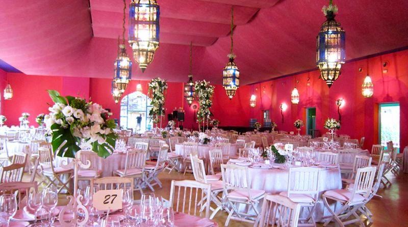 Bodas en Espartinas. Salón banquete. Hacienda Loreto | Bodas Sevilla - SevillaBodas.net