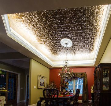 Create Depth And Drama With Your Ceiling Cove By Illuminating It