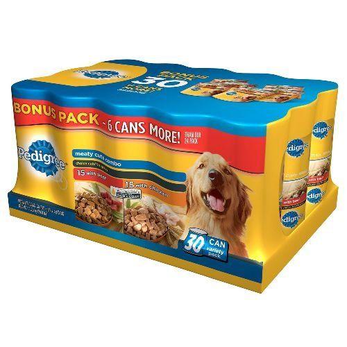 Pedigree 30 Count Choice Cuts Dog Food Bonus Pack Trust Me