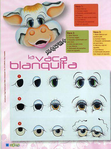 Dibujos Y Plantillas Para Imprimir Ojos Animales Ojos Pintar