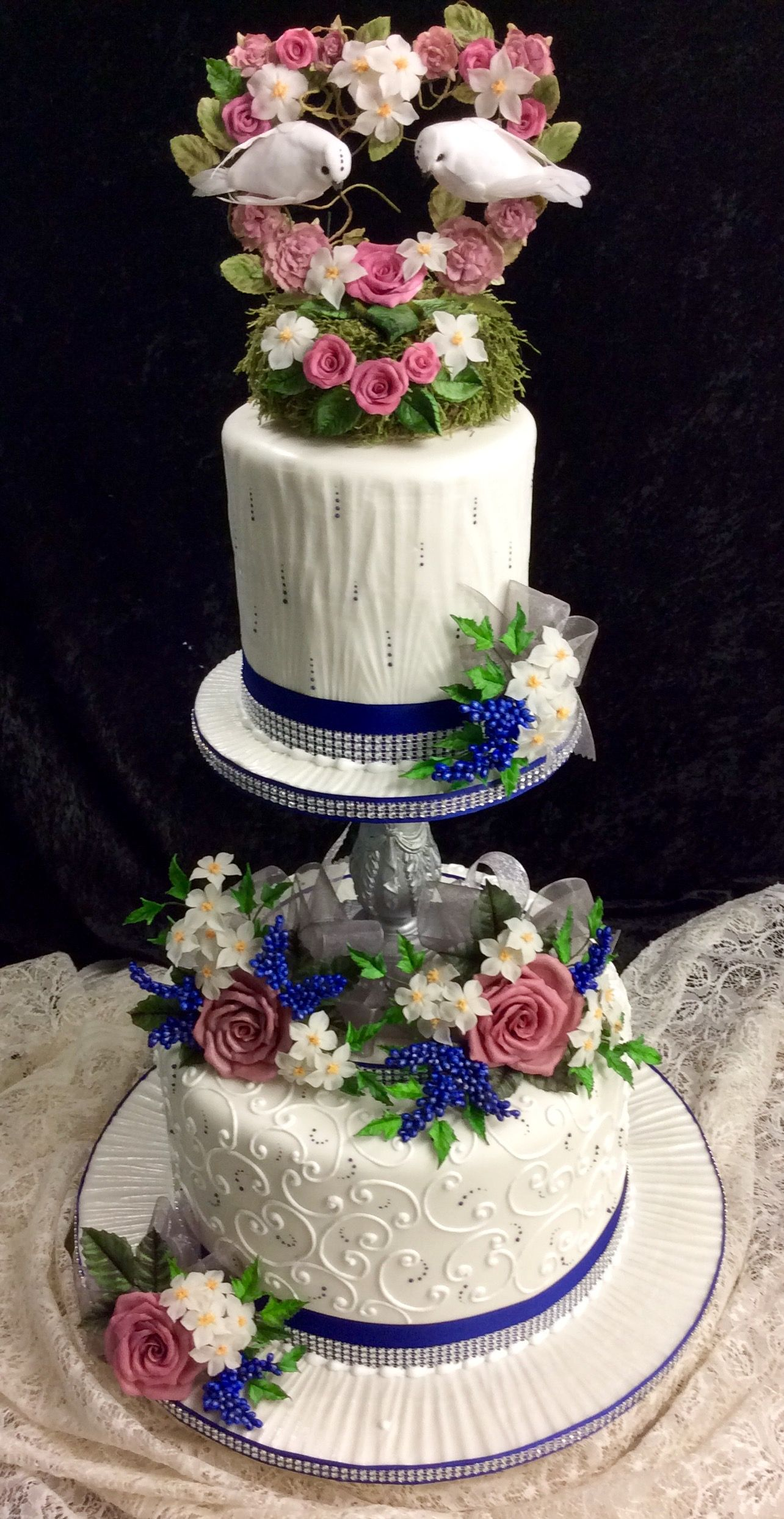 Pin by Jacqueline P on Wedding Cake in 2019 Cake