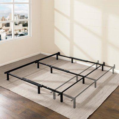 Symple Stuff Jacquelyn 7 Adjustable Metal Bed Frame Bed Frame