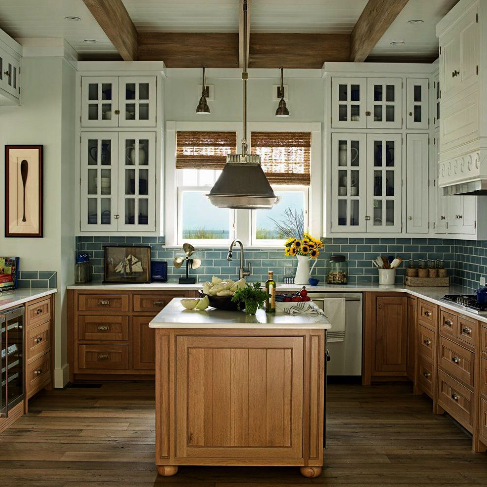 Home Decorators Collection True Cherry Despite Beach House Kitchen Interiors And Beach House Decor La Beach House Kitchens Kitchen Decor Trends Kitchen Styling