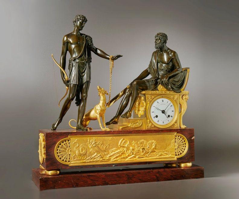 Wedding Hairstyle Near Me: Pierre-François-Gaston Jolly, A Directoire Mantel Clock Of