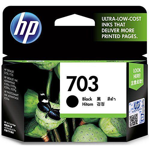 Hp Deskjet 703 Ink Cartridge Black Ink Cartridge Printer Ink