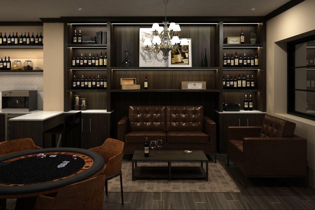 Man Cave Cigar Lounge Decor Bar Lounge Room Bars For Home
