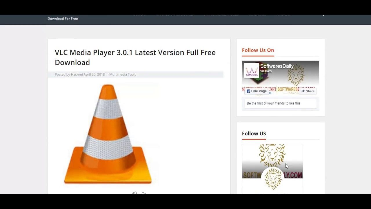 Vlc Media Player Players Player Download Media
