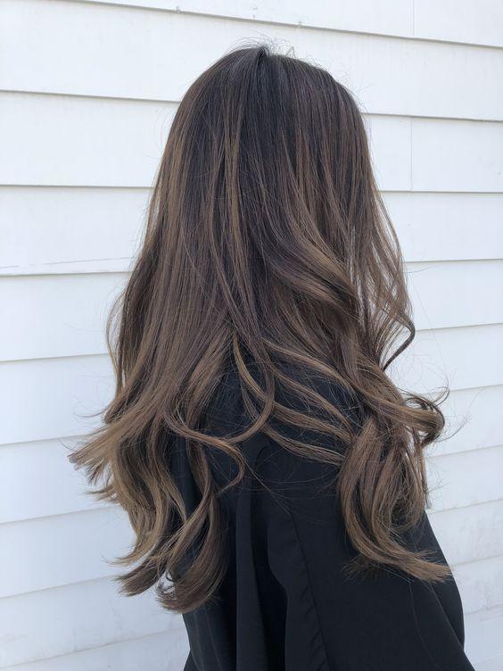 shampoo brunt hår