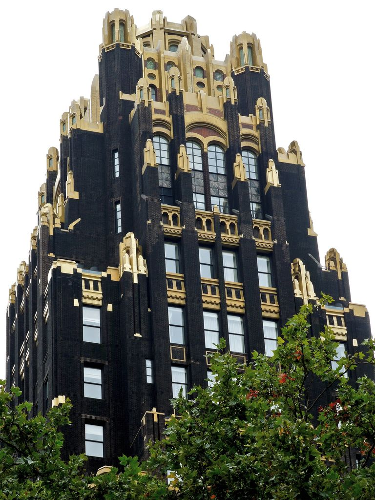 The American Radiator Building In New York Main Office