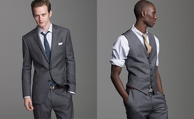 J. Crew Suits for Your Groom & Groomsmen, especially love the 3 ...