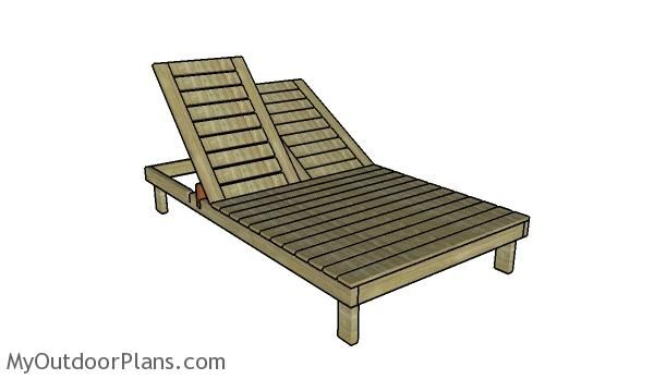Double Lounger Plans In 2019 Double Chaise Lounge