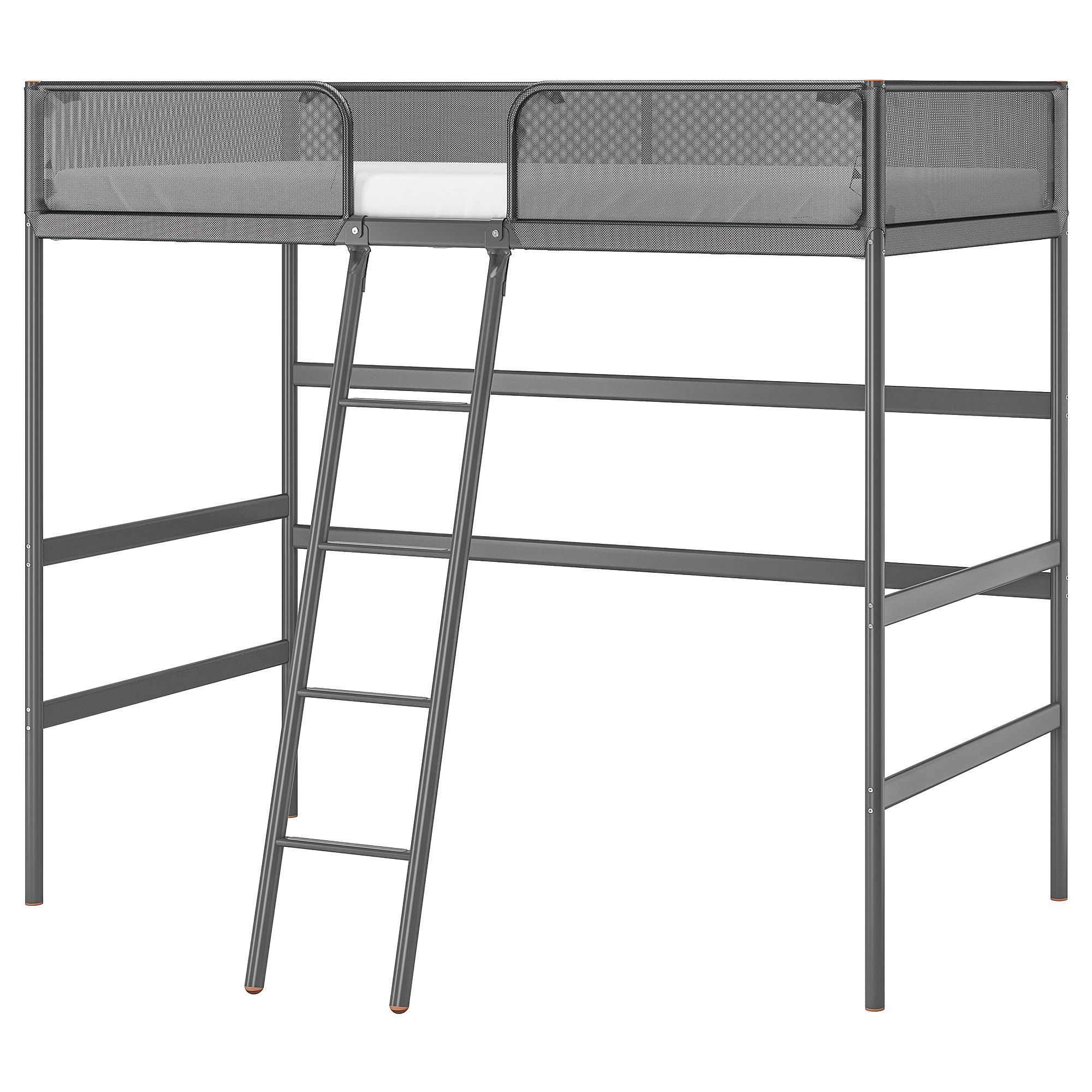 a83d0e380b28 Taylor   Olive Tubmill Abode Full-size Metal Loft Bed (Silver) in 2019