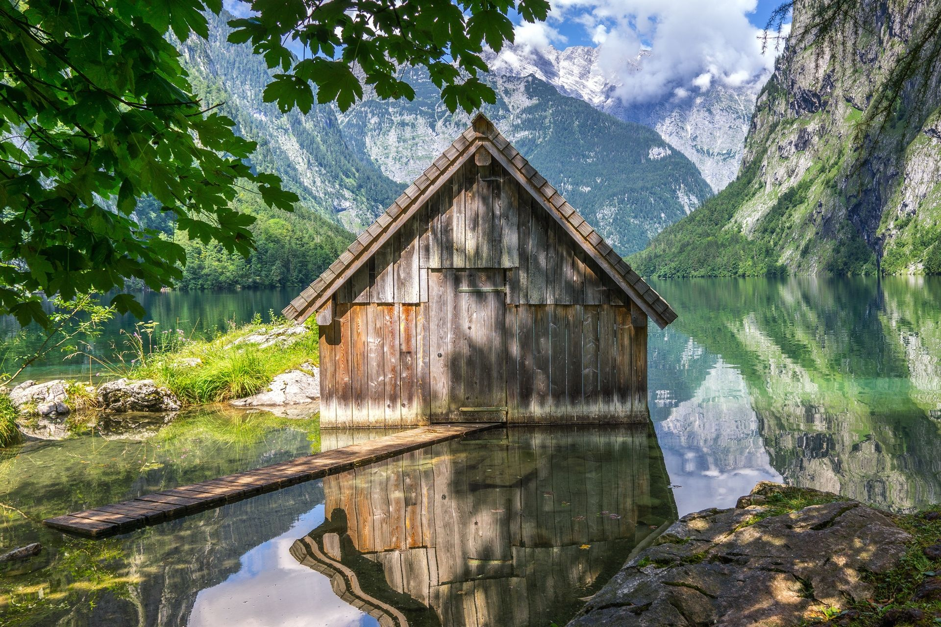 Lake Obersee #2 - Lake Obersee / Bavaria