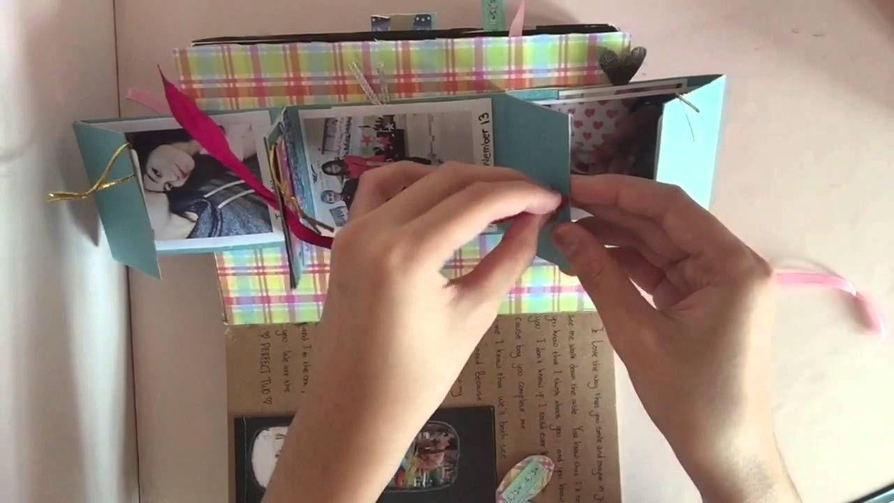 Scrapbook gift ideas for boyfriend - Anniversary Scrapbook For My Boyfriend