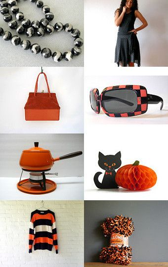 celebrate halloween in vintage style by ms blue on etsy --Pinned with TreasuryPin.com