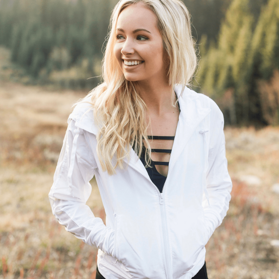 Welcome To Zyia Active Shop Earn Join Inspired To Revamp In 2021 White Bomber Jacket White Bomber Bomber Jacket [ 1080 x 1080 Pixel ]