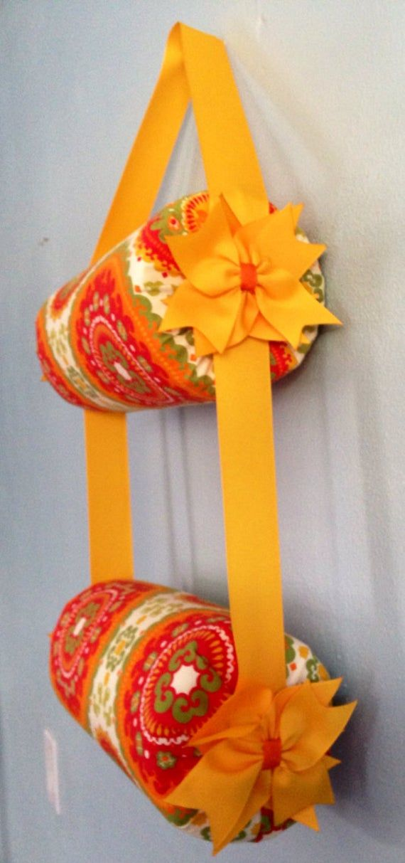Headband Holder or head band organizer Medetarian Handmade Double - 2 tiers