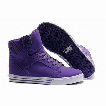 2254216e885 mens purple white supra skytop high tops skate shoes 26030   fashion ...