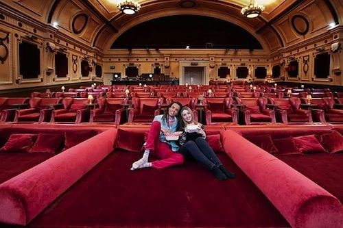 Electric Cinema, London. Plush velvet beds and cashmere blankets in a movie theater?! One day, my friends...one day.