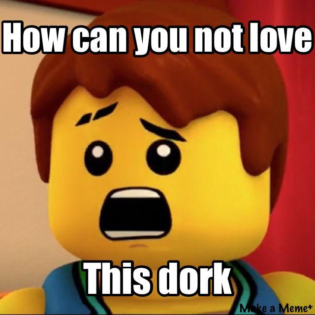 He S A Precious Cinnamon Roll And Must Be Protected At All Costs Ninjago Memes Lego Memes Ninjago
