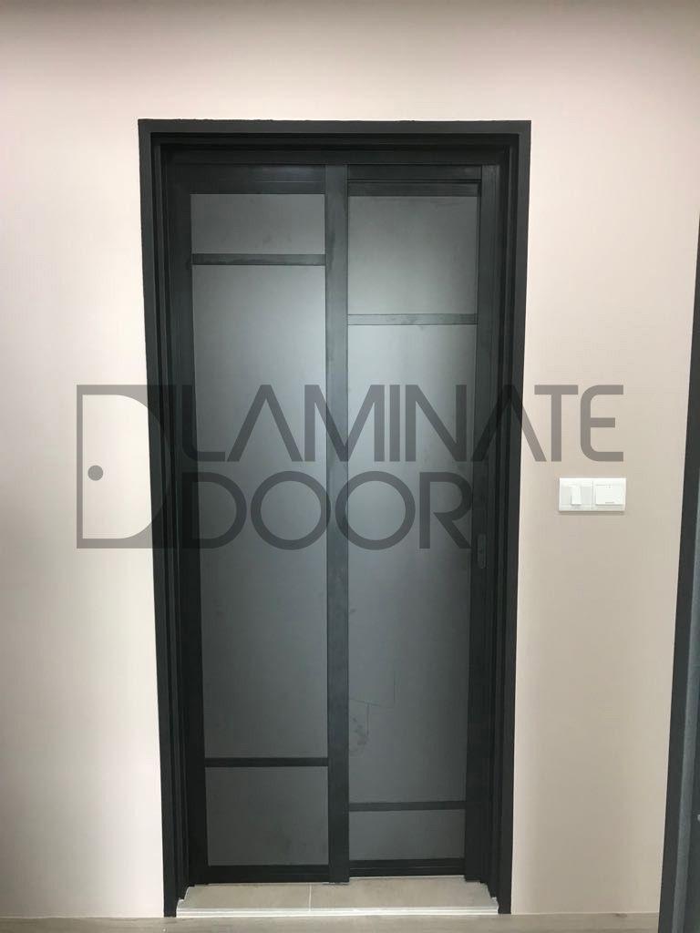 Slide And Swing Toilet Door Install For Hdb Bto Free To Customize Get 1 Door At 350 2 Door At 598 Top Up Toilet Door Door Design Interior Laminate Doors