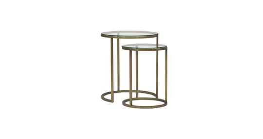 BASSEY NESTING ACCENT TABLE [ available online ]