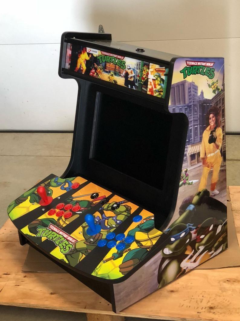 Frogger Bartop Multi Game Arcade Mortal Kombat Mame