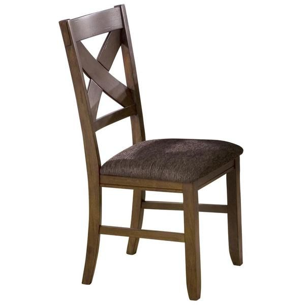 Overstock Com Mobile Leather Side Chair Fabric Dining Chairs