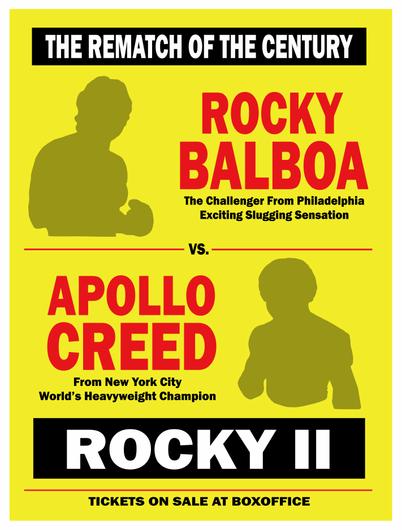 ROCKY vs APOLLO - The Rematch of the Century