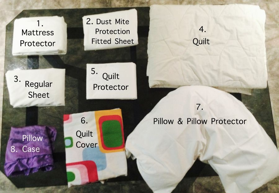 How To Dust Mite Proof A Bed Other Allergy Friendly Home Tips Be A Fun Mum Dust Mites Dust Mite Allergy Allergies