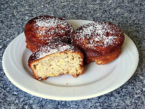 Haferflocken-Apfel-Muffins #apfelmuffinsrezepte