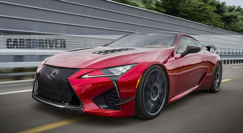 Lexus LC F to Debut in 2021 with Over 600 Horsepower