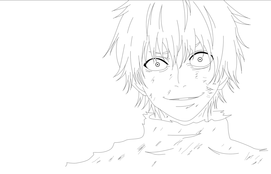 Anime Coloring Pages Tokyo Ghoul Designs Trend