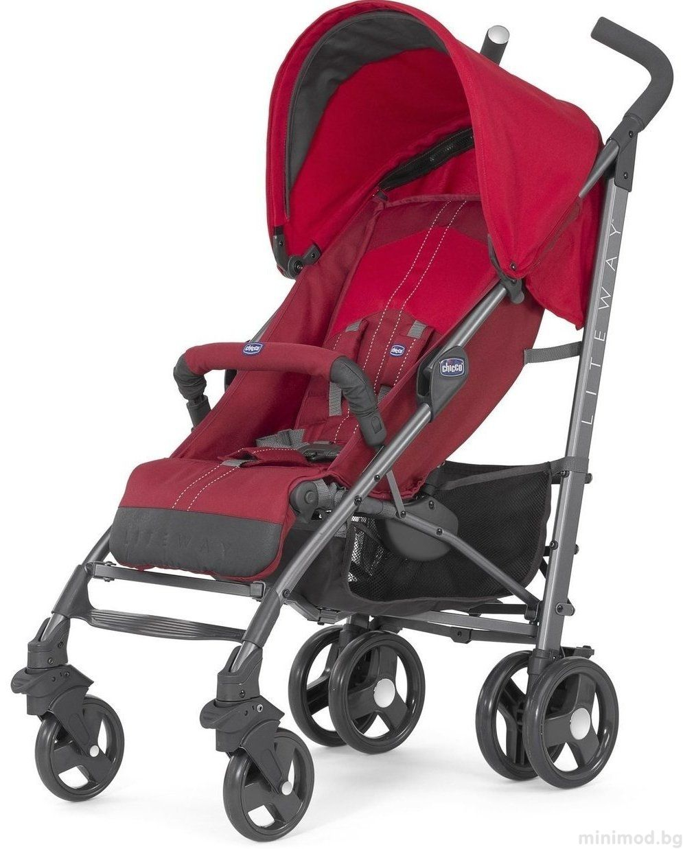 CHICCO Лятна количка Lite Way Top Red Baby strollers