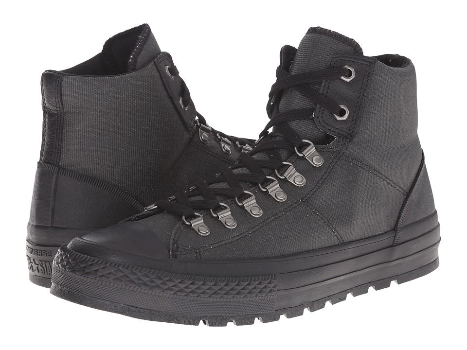 c71615b76fdd CONVERSE CONVERSE - CHUCK TAYLOR(R) ALL STAR(R) STREET HIKER  (BLACK BLACK BLACK) MEN S CLASSIC SHOES.  converse  shoes