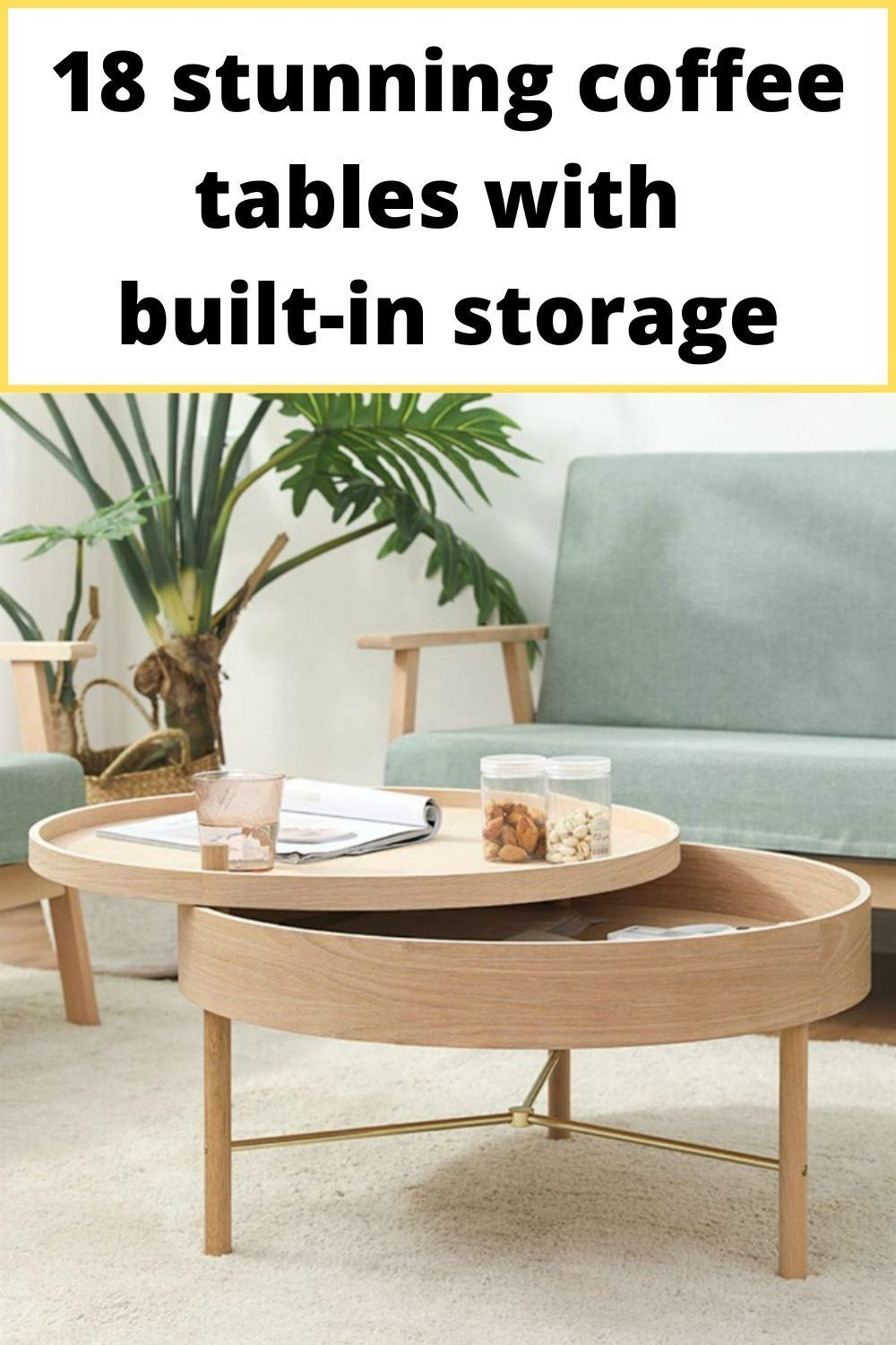18 Stunning Coffee Tables With Built In Storage Living In A Shoebox Coffee Table Stylish Coffee Table Furniture For Small Spaces [ 1500 x 1000 Pixel ]