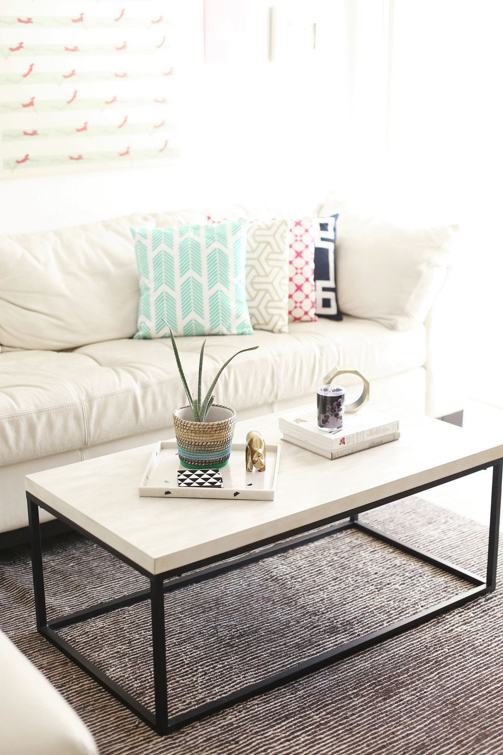 How To Style A Coffee Table Like An Interior Designer Via Kristimurphydiy