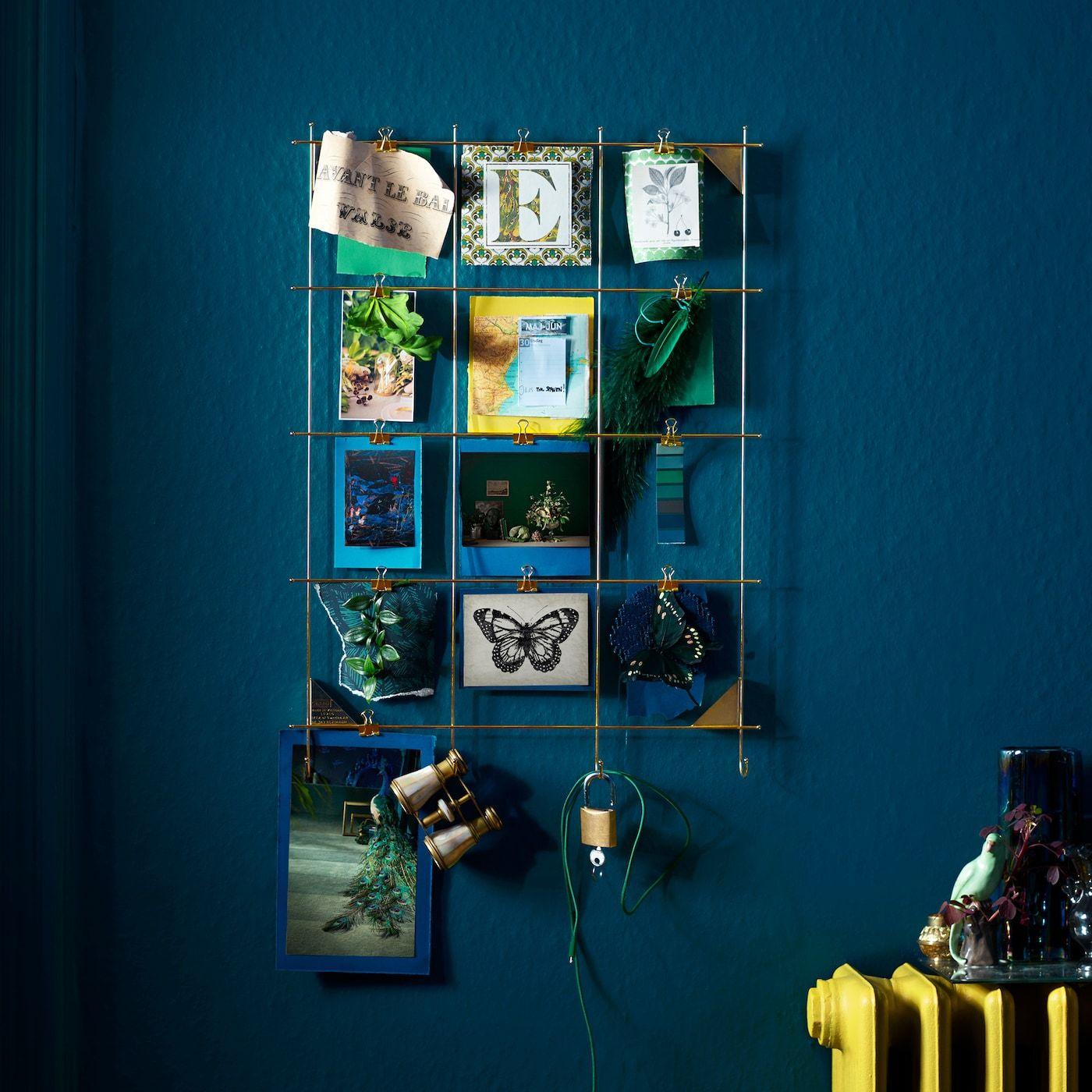 An IKEA MYRHEDEN Rahmen messingfarben kannst du deine Lieblingsdinge ...